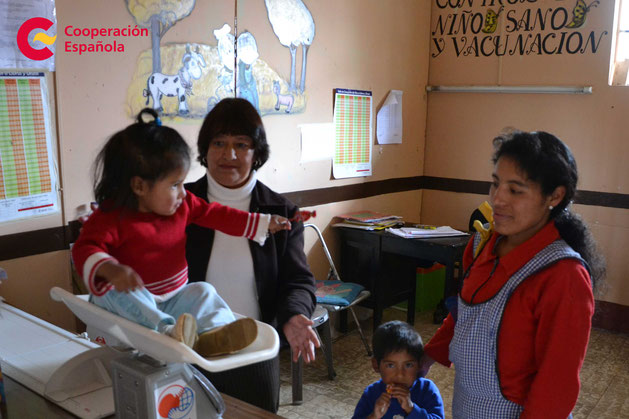 Reducción de la desnutrición infantil