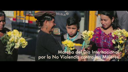 Reducción de la Violencia contra la mujer en Sololá.