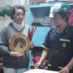 Ministra de Trabajo, Migraciones y Seguridad Social, Magdalena Valerio visita la Escuela Taller de Ciudad de Guatemala