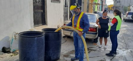 Agua segura para habitantes de Mixco durante la crisis sanitaria
