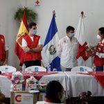 Embajador de España visitó Cobán para entrega de ayuda humanitaria a damnificados/as de la Tormenta Tropical ETA