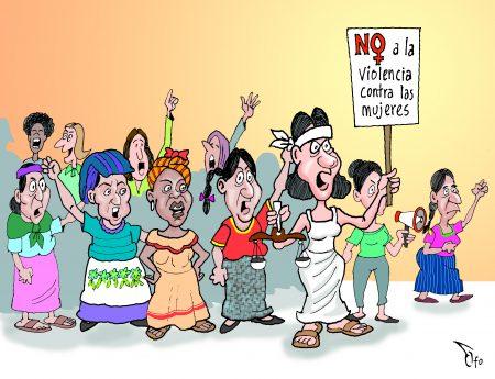 Así trabajamos por una vida libre de violencias contra mujeres y niñas
