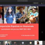 Aecid Guatemala inició la formulación del Marco de Asociación País 2021-2024