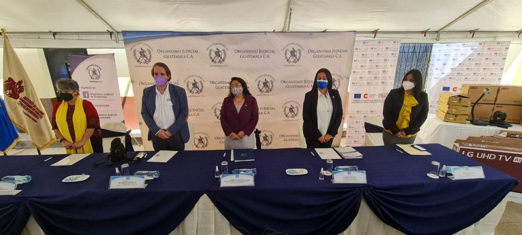 Programa PREVI-ICCPG promueve audiencias virtuales en juzgados y tribunales especializados en atención a mujeres víctimas de violencia