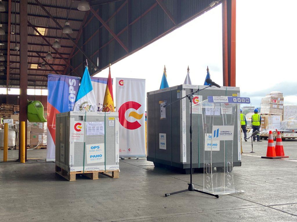 España dona a Guatemala 201.600 dosis de vacunas contra el Covid19
