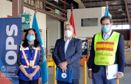 España dona a Guatemala un tercer lote de 151.200  dosis de AstraZeneca contra la Covid-19