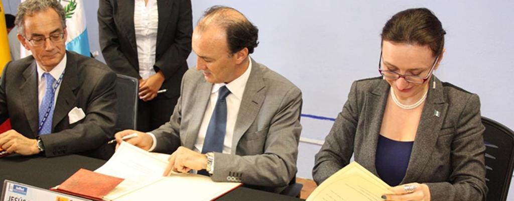 Firma del Marco de Asociación País